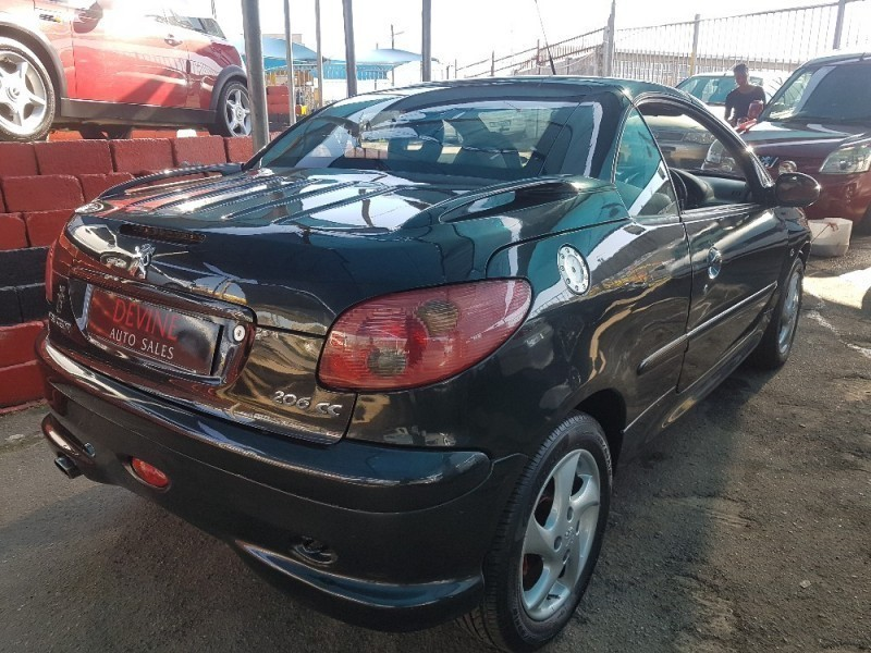 Used peugeot 206 1 6 coupe cabriolet for sale in kwazulu natal id 2192504 - Peugeot 206 coupe cabriolet review ...