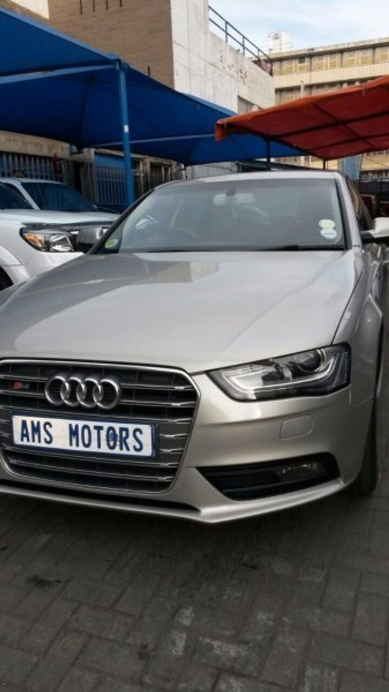 Used audi a4 2 0 tdi s multitronic for sale in gauteng for Credit auto garage audi