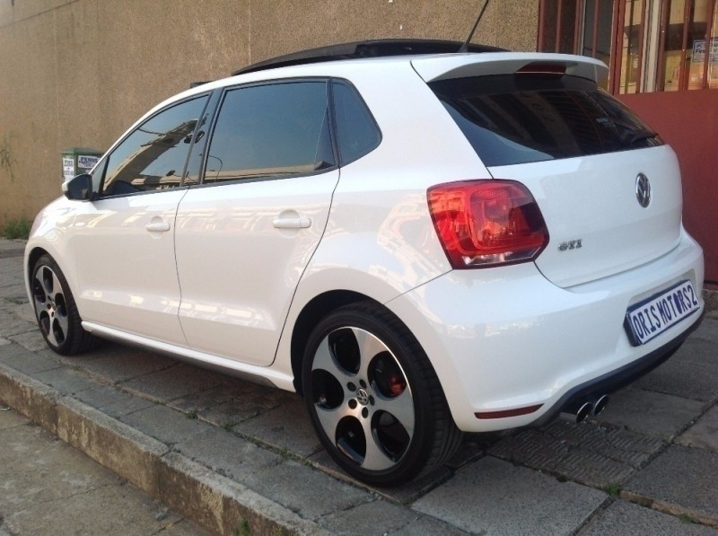 used volkswagen polo 1 8 tsi gti dsg for sale in gauteng. Black Bedroom Furniture Sets. Home Design Ideas