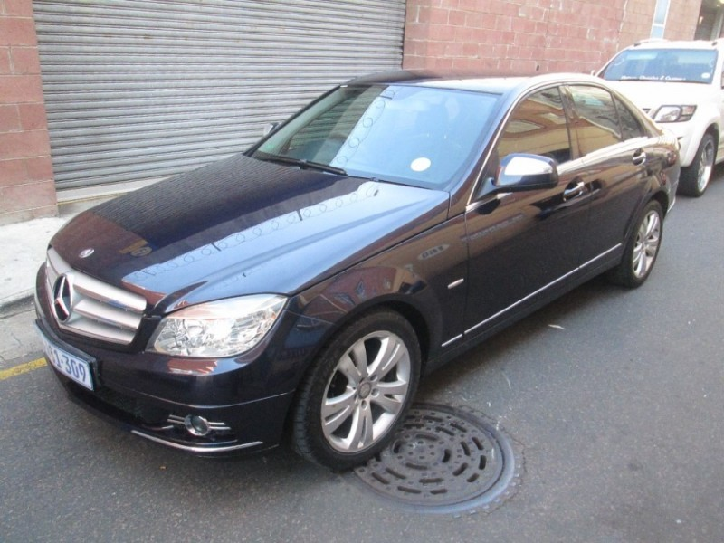 Used mercedes benz c class c180k avantgarde a t for sale for Mercedes benz c class 2008 for sale