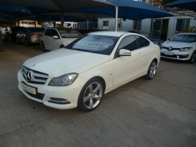 Used Mercedes Benz C Class C250 Be Coupe A T For Sale In