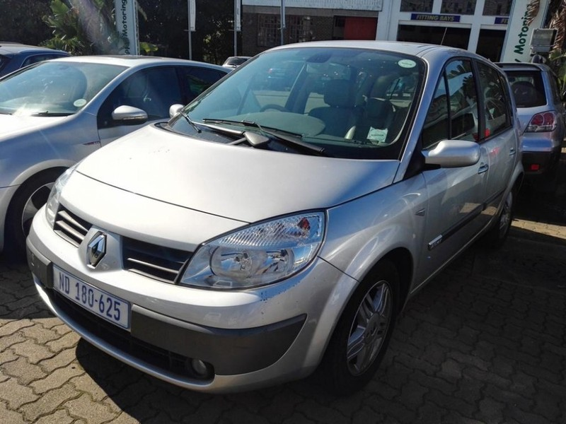 used renault scenic ii privilege 2 0 for sale in kwazulu natal id 2230406. Black Bedroom Furniture Sets. Home Design Ideas