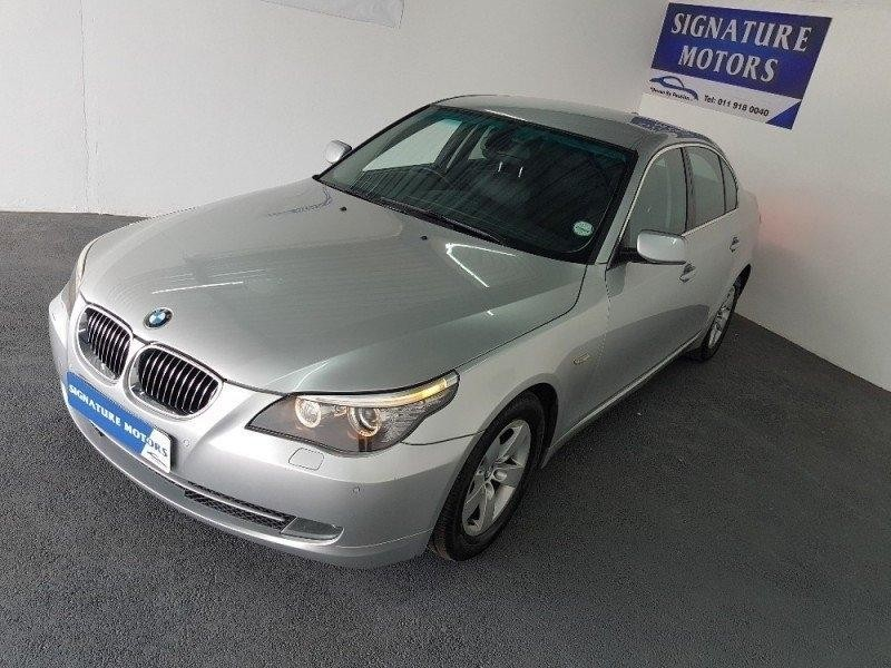 used bmw 5 series 520d a t e60 for sale in gauteng id 2233008. Black Bedroom Furniture Sets. Home Design Ideas