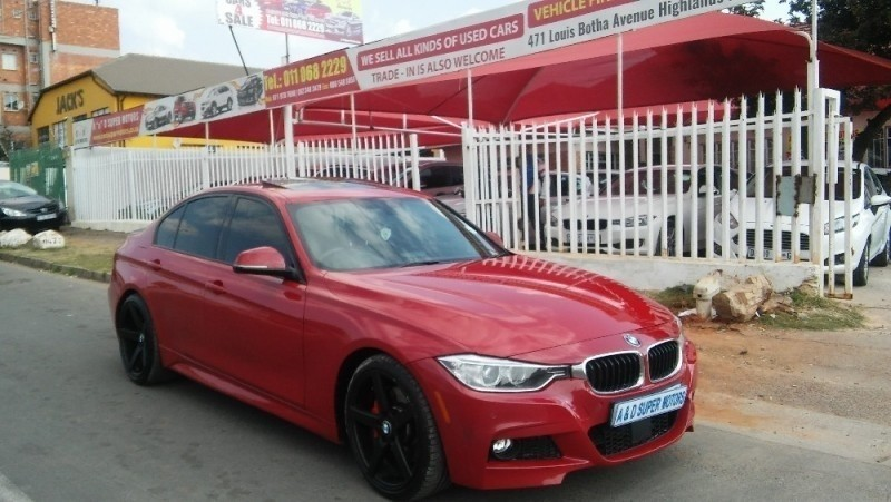 Used BMW 3 Series 335i M Sport Line At f30 for sale in Gauteng
