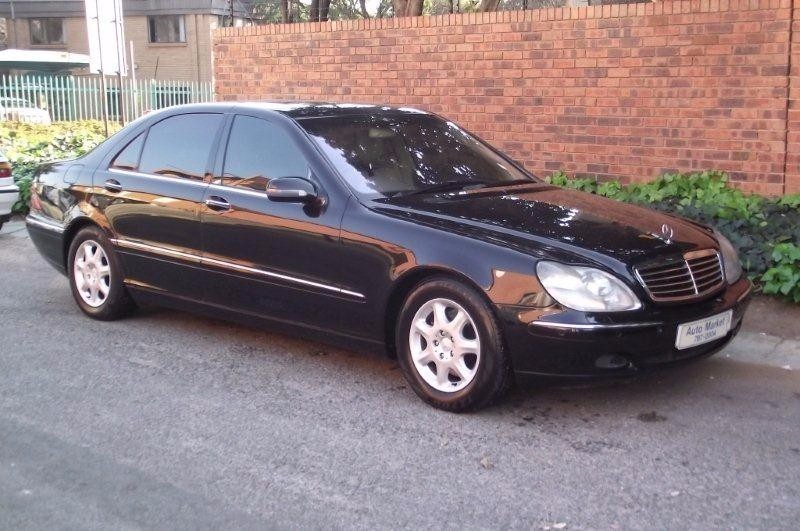 Used mercedes benz s class s 500 for sale in gauteng for 2000 mercedes benz s class for sale