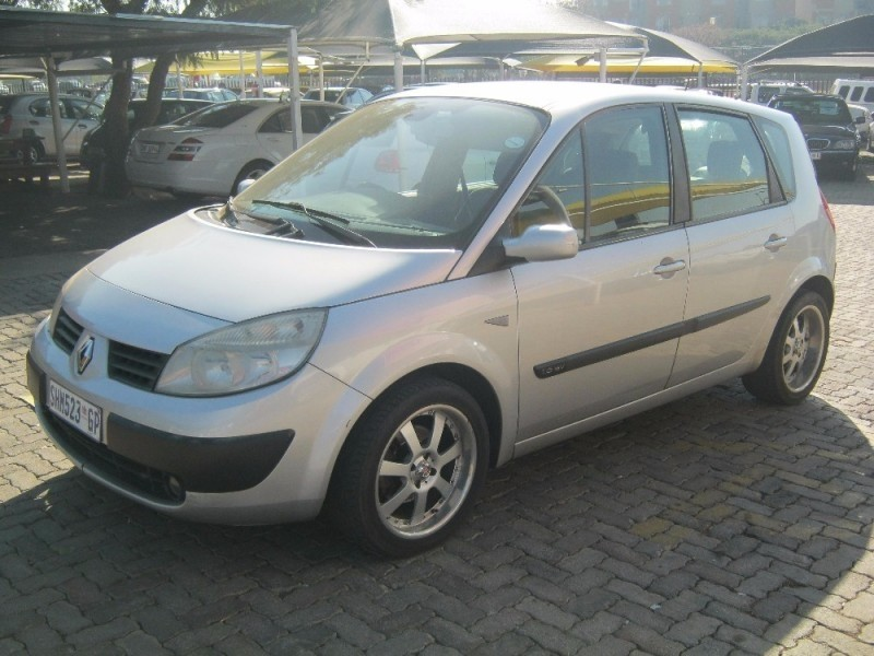 used renault scenic 1 6 expression for sale in gauteng id 2248242. Black Bedroom Furniture Sets. Home Design Ideas