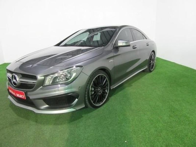 used mercedes benz cla class cla45 amg for sale in gauteng id 2261678. Black Bedroom Furniture Sets. Home Design Ideas