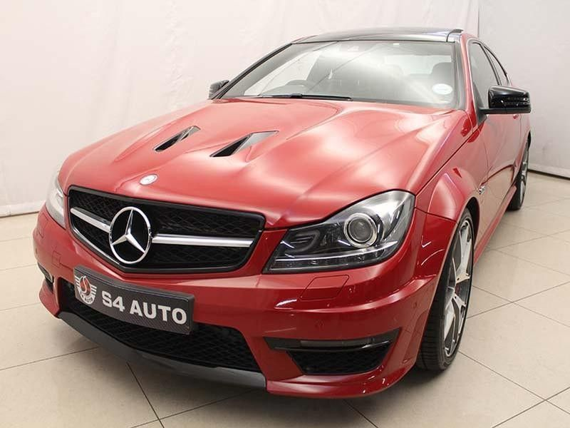 used mercedes benz c class c63 amg coupe for sale in gauteng id 2263368. Black Bedroom Furniture Sets. Home Design Ideas