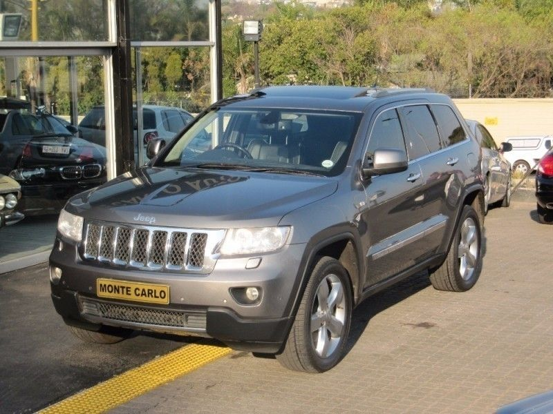 used jeep grand cherokee 3 6 overland for sale in gauteng id 2264390. Black Bedroom Furniture Sets. Home Design Ideas