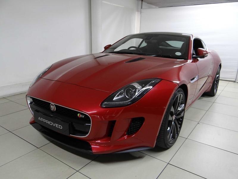 used jaguar f type s 3 0 v6 coupe for sale in gauteng id 2267554. Black Bedroom Furniture Sets. Home Design Ideas