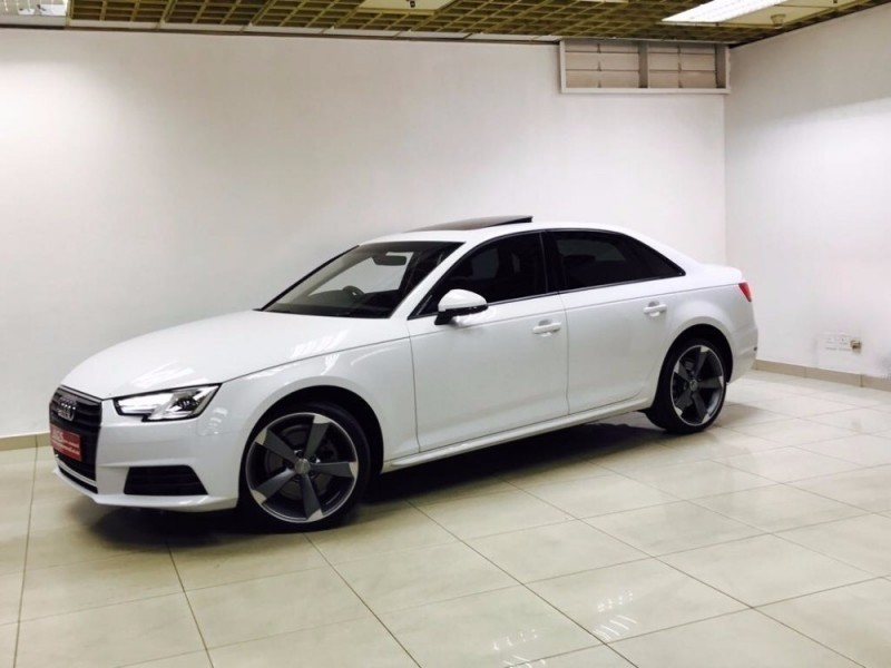Used Audi A4 2.0T TFSi B9 SPORTLINE S-TRONIC NEW SHAPE 17000KMS for sale in Gauteng - Cars.co.za ...