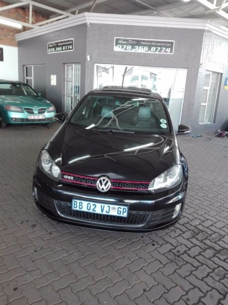 used volkswagen golf vi gti 2 0 tsi dsg for sale in gauteng id 2275710. Black Bedroom Furniture Sets. Home Design Ideas