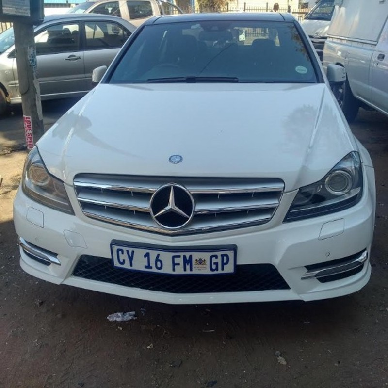 Used mercedes benz c class c200 amg line auto for sale in for Used mercedes benz cars for sale