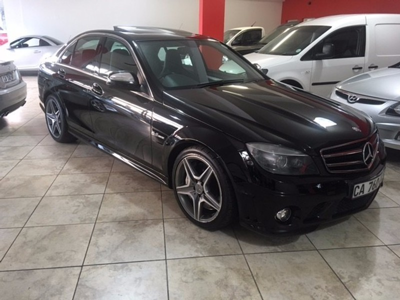 used mercedes benz c class c63 amg for sale in western cape id 2279690. Black Bedroom Furniture Sets. Home Design Ideas