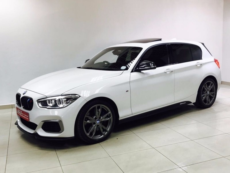 Used Bmw M1 M140i M Performance Auto 5door Red Leather