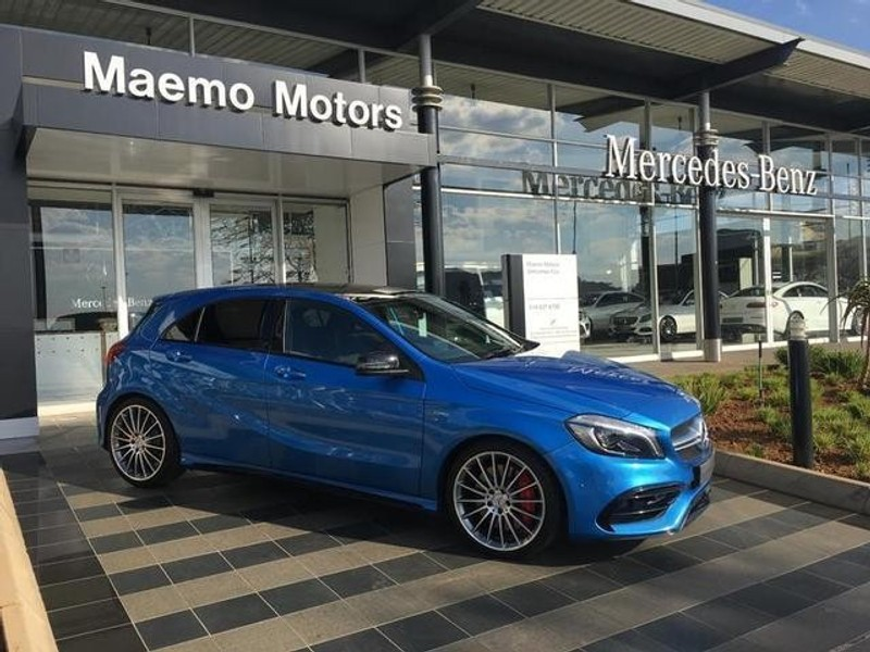 Used mercedes benz a class a45 amg 4matic for sale in for Mercedes benz of houston north used cars