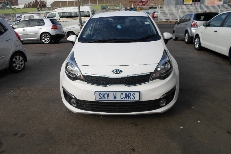 Used Kia Rio 1 4 Auto Sedan 2015 Model For Sale In Gauteng