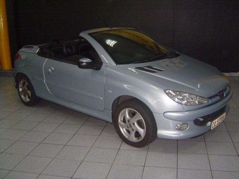 Used peugeot 206 1 6 coupe cabriolet for sale in western cape id 2287156 - Peugeot 206 coupe cabriolet review ...
