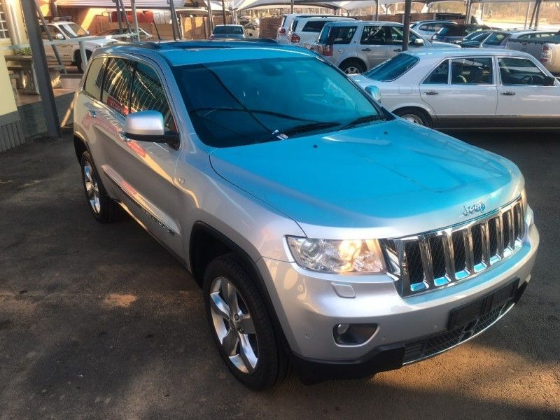 used jeep grand cherokee 3 6 overland for sale in gauteng id 2290206. Black Bedroom Furniture Sets. Home Design Ideas