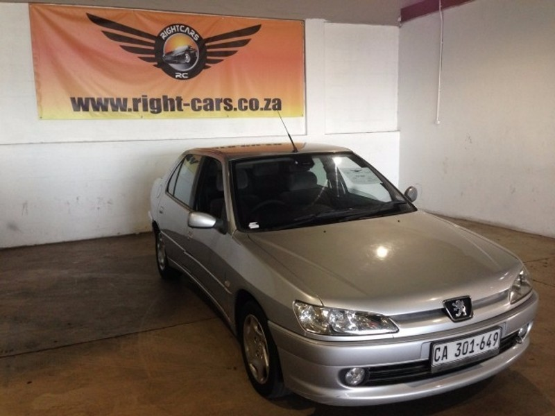 used peugeot 306 xt 1 8 4dr for sale in western cape id 2290434. Black Bedroom Furniture Sets. Home Design Ideas