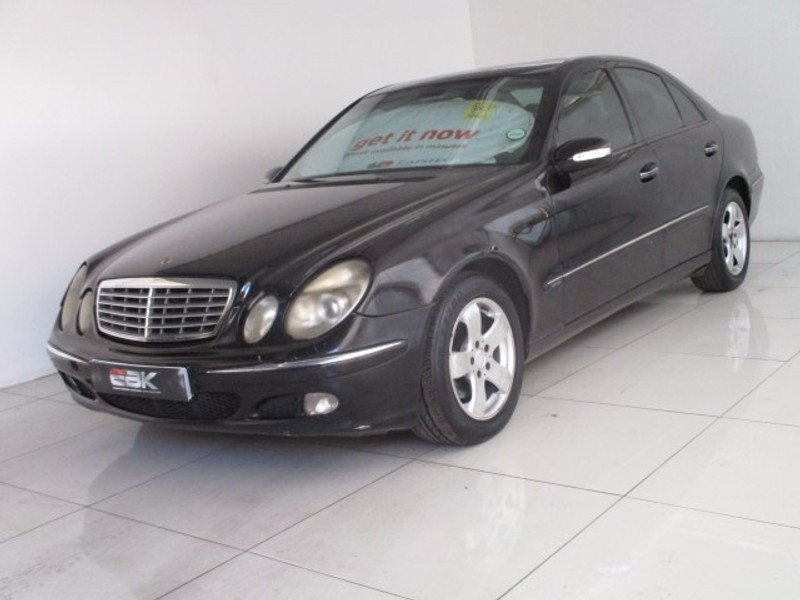 Used mercedes benz e class e240 v6 elegance a t for sale for Mercedes benz v6