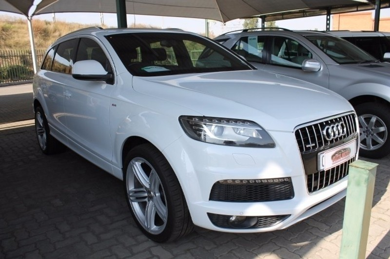 used audi q7 4 2 tdi v8 quattro tip for sale in gauteng id 2299364. Black Bedroom Furniture Sets. Home Design Ideas