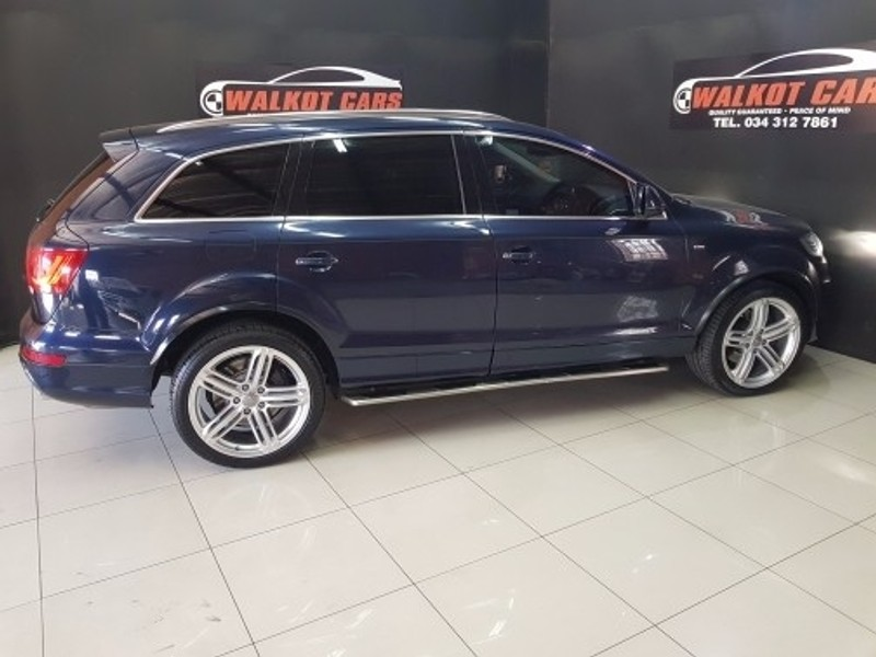 used audi q7 4 2 tdi v8 quattro tip for sale in kwazulu natal id 2304480. Black Bedroom Furniture Sets. Home Design Ideas