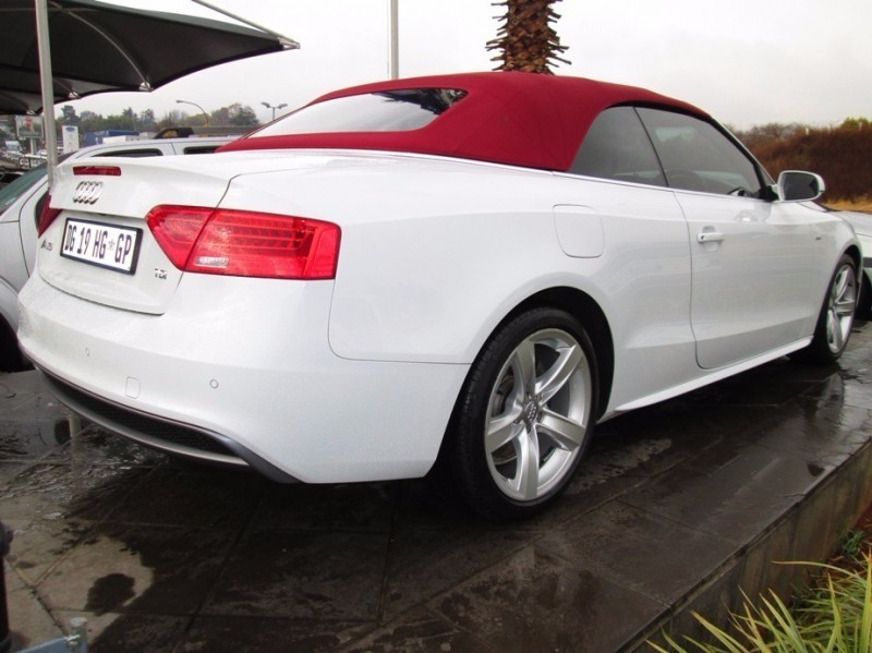 used audi a5 cabriolet 2 0 tdi multi for sale in gauteng id 2305542. Black Bedroom Furniture Sets. Home Design Ideas