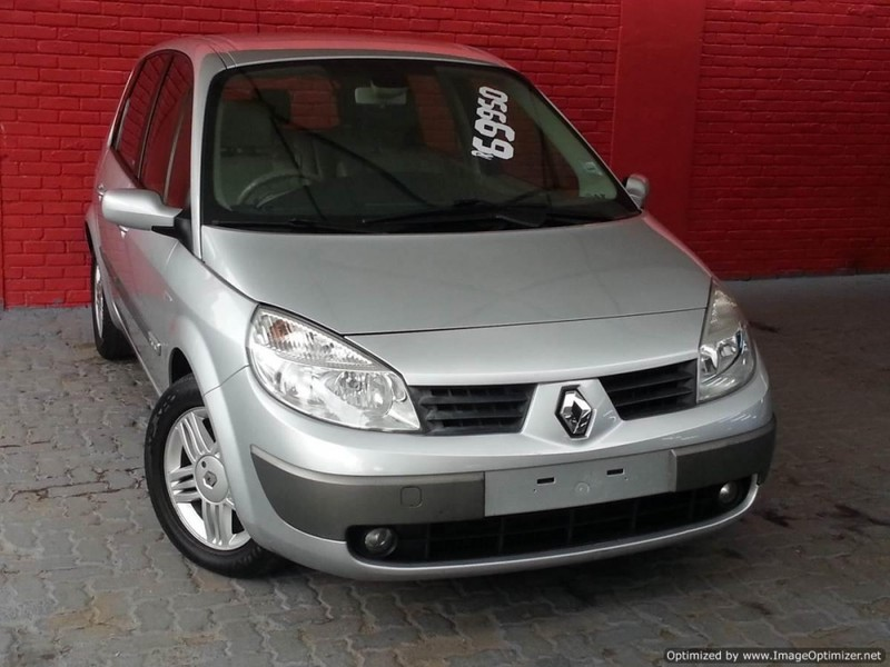 used renault scenic ii privilege 2 0 for sale in gauteng id 2305602. Black Bedroom Furniture Sets. Home Design Ideas