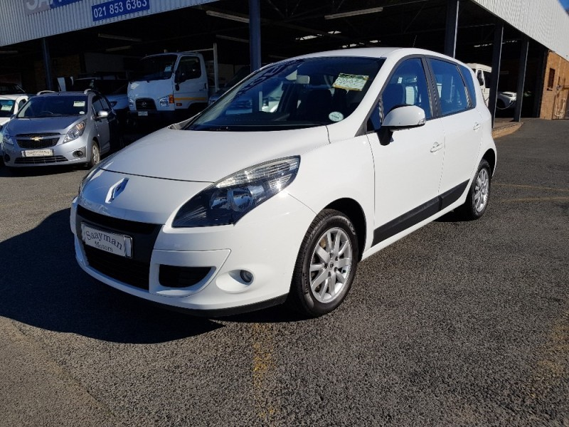 used renault scenic iii 1 6 expression for sale in western cape id 2320616. Black Bedroom Furniture Sets. Home Design Ideas