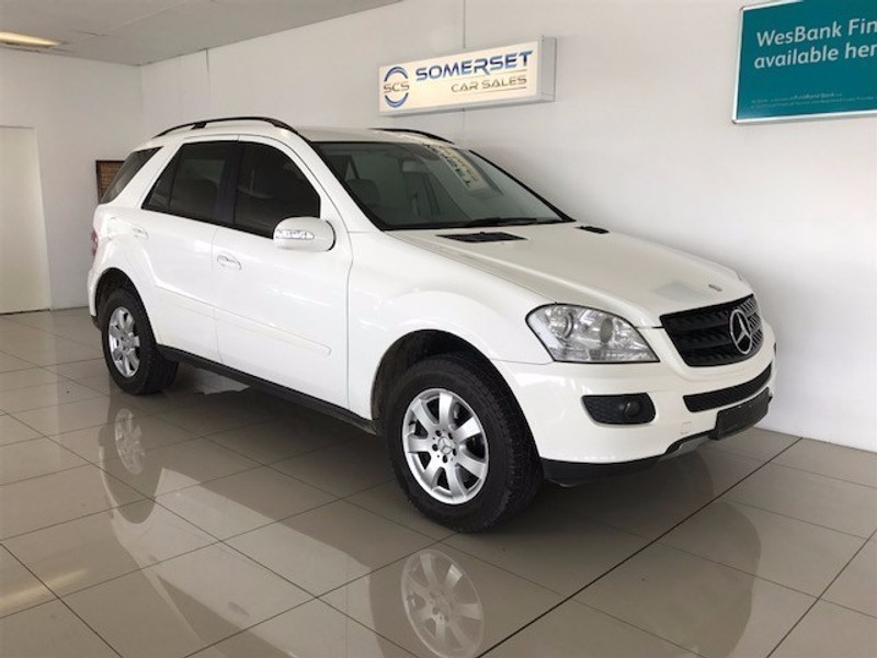 used mercedes benz m class ml 320 cdi a t for sale in western cape id 2333614. Black Bedroom Furniture Sets. Home Design Ideas