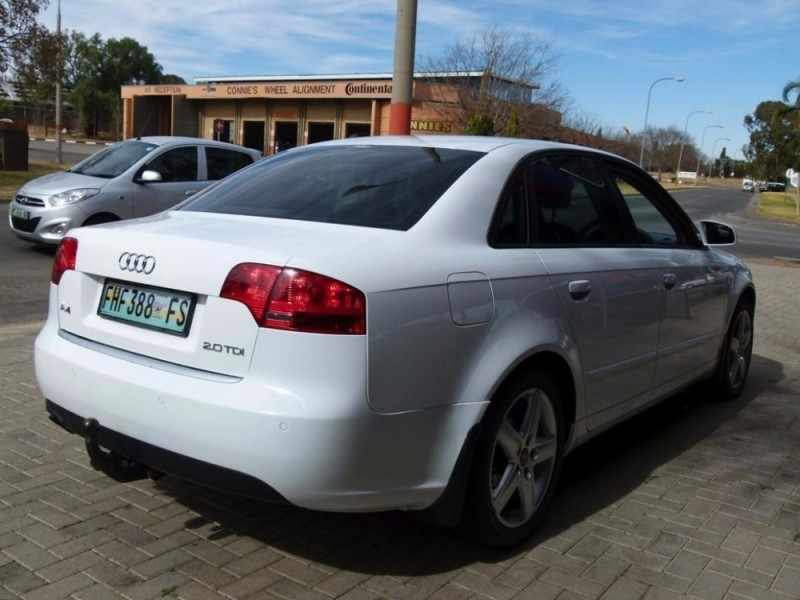 Used Audi A4 2 0 Tdi Multitronic B7 For Sale In North