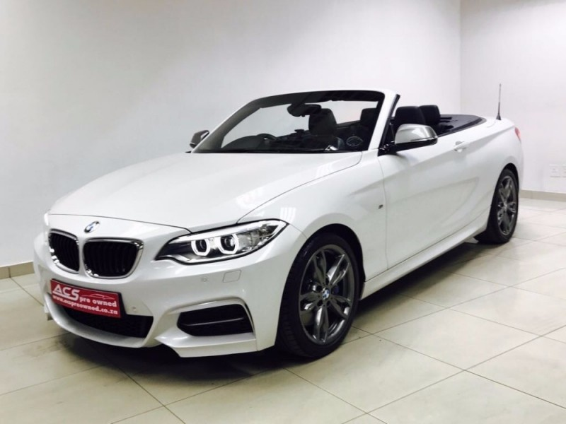 used bmw m2 m235i convertible m dct 13000kms navigation for sale in gauteng id. Black Bedroom Furniture Sets. Home Design Ideas