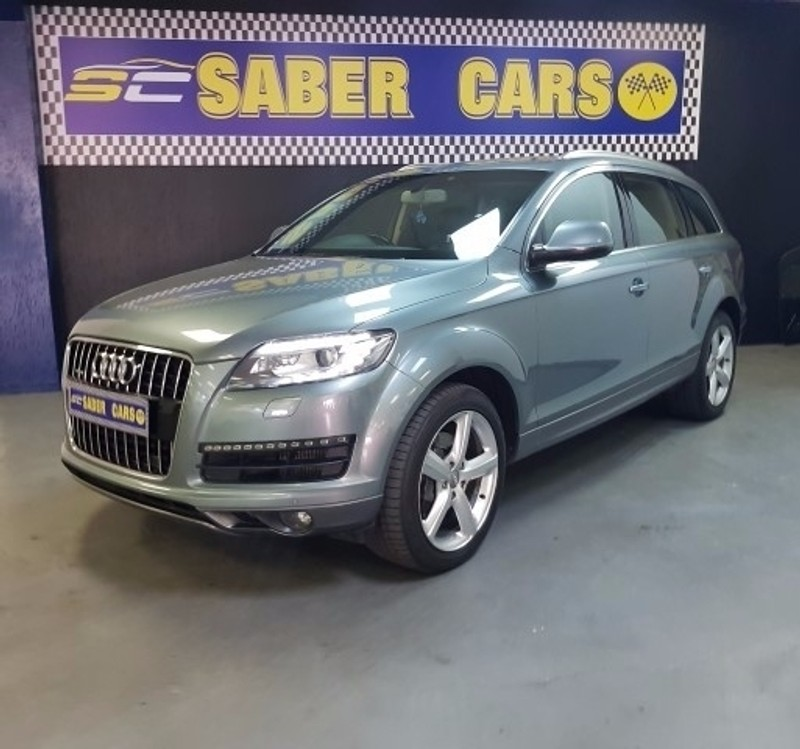 used audi q7 4 2 tdi v8 quattro tip for sale in gauteng. Black Bedroom Furniture Sets. Home Design Ideas