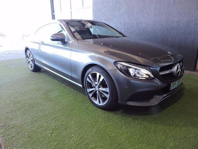 Used mercedes benz c class c220d coupe auto for sale in for Mercedes benz seat belt purse