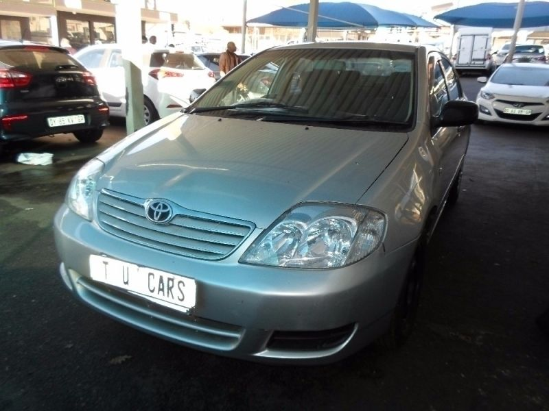 Used Toyota Corolla 140i for sale in Gauteng - Cars.co.za (ID:2355806)