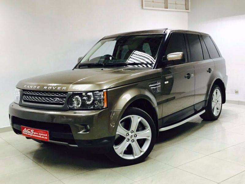 used land rover range rover sport 5 0 supercharged hse dynamic 69000kms for sale in gauteng. Black Bedroom Furniture Sets. Home Design Ideas