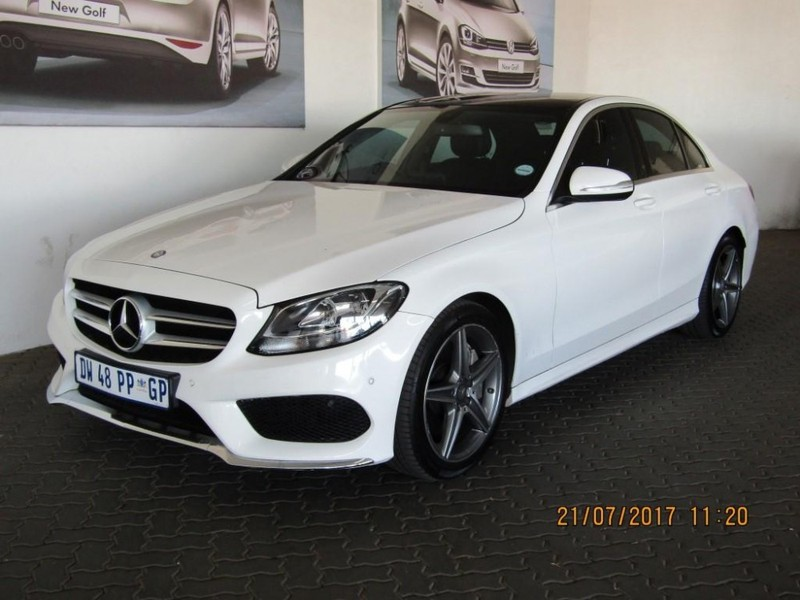 Used Mercedes Benz C Class C250 Bluetec Amg Line Auto For