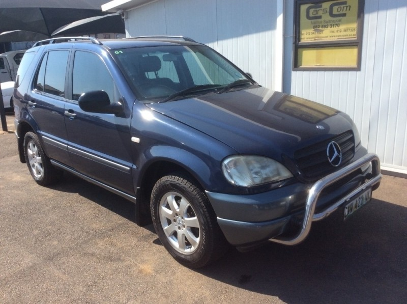 Used mercedes benz m class ml 270 cdi f l for sale in for 2001 mercedes benz m class