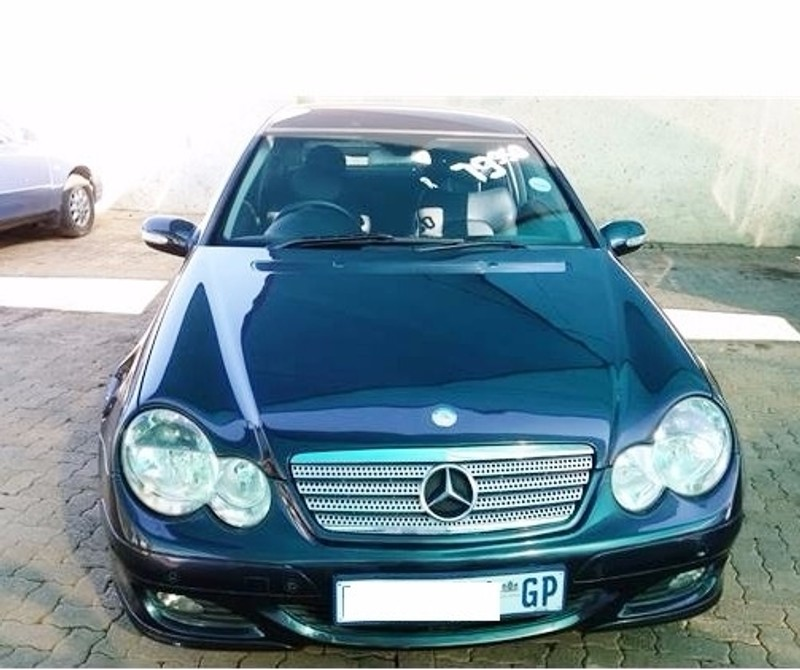 used mercedes benz c class 2004 mercedes benz c 230 coupe discounted for sale in gauteng. Black Bedroom Furniture Sets. Home Design Ideas
