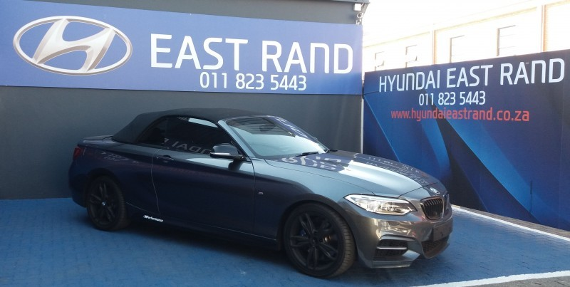 used bmw m2 m235 convertible auto f23 for sale in gauteng id 2366446. Black Bedroom Furniture Sets. Home Design Ideas
