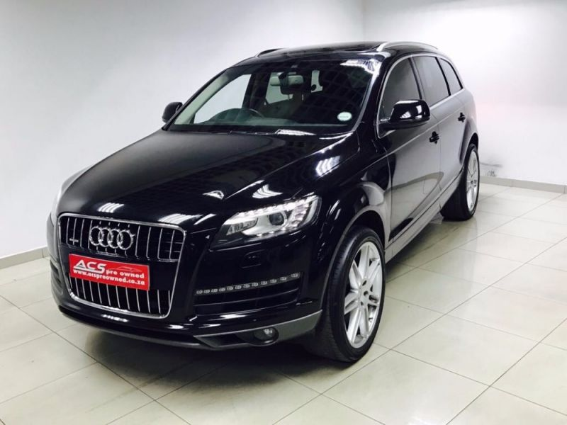 used audi q7 3 0 tdi quattro auto s line pan roof 22 inch wheel for sale in gauteng. Black Bedroom Furniture Sets. Home Design Ideas