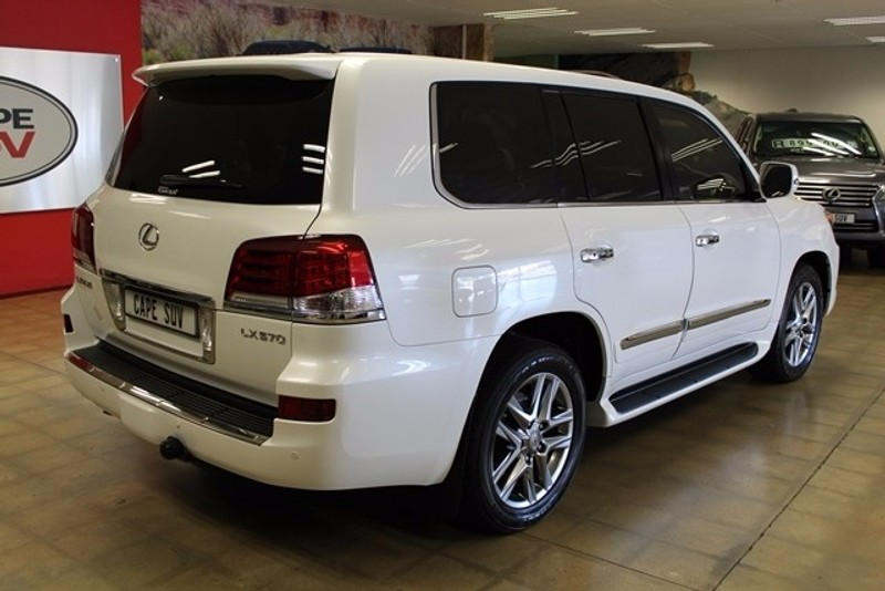 used lexus lx 570 for sale in western cape id 2380856. Black Bedroom Furniture Sets. Home Design Ideas