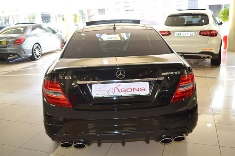 used mercedes benz c class c63 amg coupe for sale in kwazulu natal id 2385430. Black Bedroom Furniture Sets. Home Design Ideas