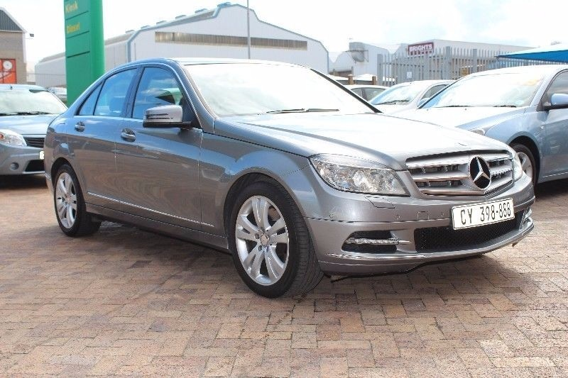 used mercedes benz c class mercedes benz c350 avantgarde a t for sale in western cape. Black Bedroom Furniture Sets. Home Design Ideas