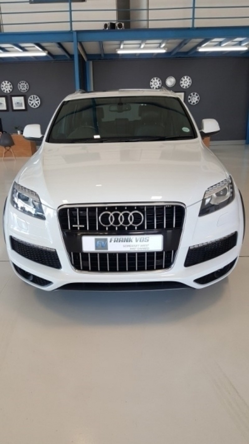 used audi q7 4 2 tdi v8 quattro tip for sale in western cape id 2411486. Black Bedroom Furniture Sets. Home Design Ideas
