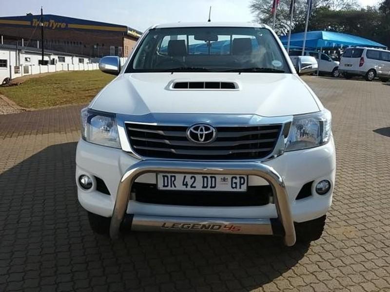 Used Toyota Hilux 3.0 D-4D LEGEND 45 R/B Single Cab Bakkie ...