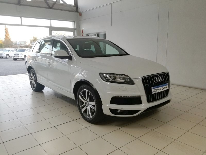 used audi q7 4 2 tdi v8 quattro tip for sale in western cape id 2417750. Black Bedroom Furniture Sets. Home Design Ideas