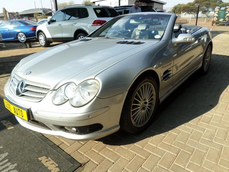 Used mercedes benz sl class sl 55 amg for sale in gauteng for Used mercedes benz sl for sale