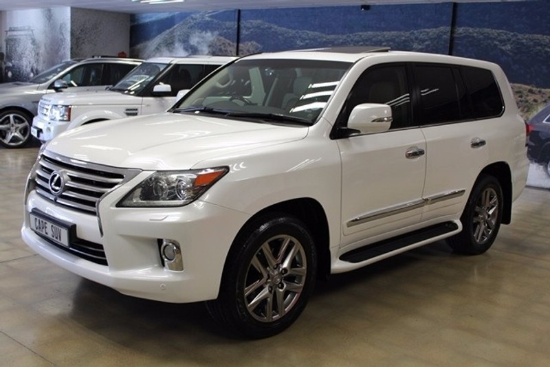 used lexus lx 570 for sale in western cape id 2421556. Black Bedroom Furniture Sets. Home Design Ideas